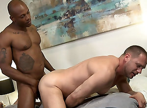 Gay,Gay Blowjob,Gay Interracial sex Osiris enjoys...
