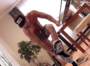 Gay,Gay Hunk,Gay Masturbation Shooting a Gay...