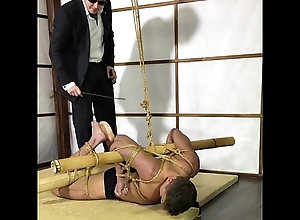 bondage,gay,bodybuilder,muscles,punished,bastinado,gay Punished...