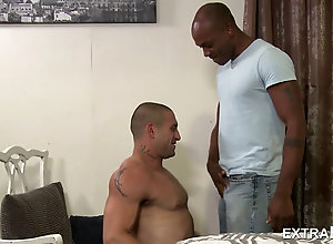 Gay,Gay Interracial sex Hot Black Dude...