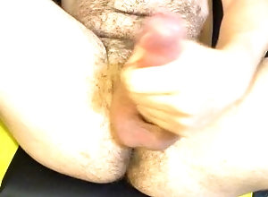 hairy;cumshot;big-cock;ass-hole;big;balls;big;load;cumming;otter;gay;masturbation;pubic;hair;tight;hole;stroking;bear;bdsm;bottom,Solo Male;Gay;Verified Amateurs;Amateur;Cumshot Thick cock, Big...