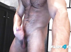 flirt4freeguys;big-cock;masturbation;big-dick;veiny;hairy;scruffy;flexing;muscles;body;worship;athletic;Stroking;huge-cock;jerking-off;muscle;worship;cumshot;big;load,Muscle;Solo Male;Big Dick;Gay Muscle Worship...