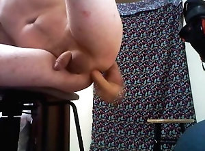 solo;dildo;butt;ass;twink;smooth;amature,Solo Male;Gay;College;Exclusive Fucking my butt...