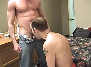 Gay,Gay Muscled,Gay Blowjob,gay,bedroom,muscled,blowjob,men,cumshot,cum in mouth,gay porn Marc's 3rd Load