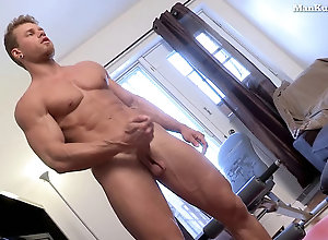 Gay,Gay Masturbation Muscle Jock...