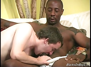 big cock,interracial,black,ebony,gay,threesome White neighbour...