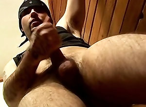 Gay,Gay Masturbation Solo,solo,tattoo,masturbation,brown hair,cut,average dick,short hair,young men,cum jerking off,american,gay Flaco Squeezes...