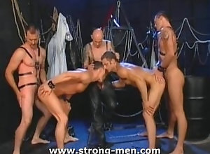 gay;strong-men.com;leather;group-sex;orgy;fetish;studs;hunks;anal;hardcore;ass-fucking;blowjob;cock-sucking,Gay Leather Orgy Studs