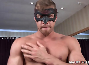 Gay,Gay Muscled,Gay Straight Guy Masked Stud Jerks...