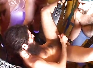 bearboxxx;hairy;chubs;bear;daddy;anal;sling,Daddy;Gay;Bear Bear Party Volume 2