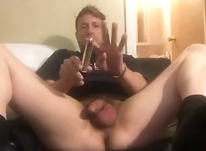 assplay;dildo;finger;asshole;explore;solo,Solo Male;Gay;Amateur My first anal...