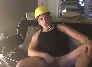 amoking;smoke;jerk;construction;jerkoff;fetish;daddy;redneck;dirty;talk;verbal,Daddy;Solo Male;Gay;Amateur Construction...