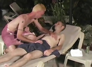 Gay,Gay Outdoor,gay,outdoor,poolside,blowjob,ass fingering,gay porn Jeremy Michael...