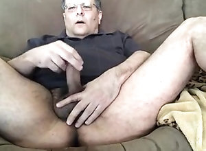 gamer;daddy;ps4;masturbating;solo-male;hairy;ass;dad;glasses,Daddy;Solo Male;Gay Horny gamer daddy...