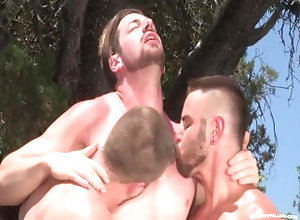 ragingstallion;raging-stallion;hunk;muscular;threesome;outdoors;public;blowjob;anal;condom;fingering;ass;play;muscle;brunette;outside;amateur,Group;Gay;Public RagingStallion...